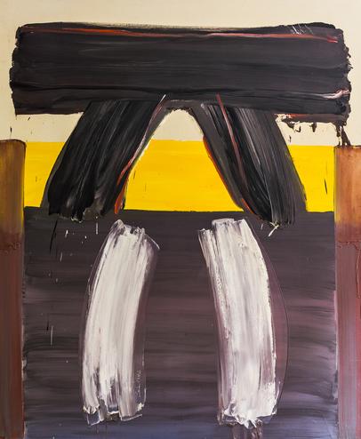 Ernest Briggs, Livna, 1977, Oil on Canvas, 69x83