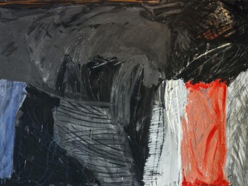 Ernest Briggs, Untitled, 1963, Oil on Canvas, 70x53