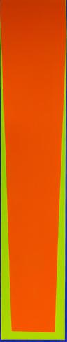 Seymour Boardman, Untitled, 1969, Oil on Canvas, 79x15