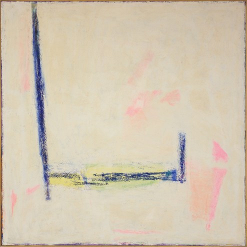Seymour Boardman, Untitled, Oil Stick on Canvas, 48 1/2 in. x 48 3/4 in.