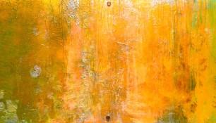"Michelle Neifert, Vehicle for Color 11, 2014, Acrylic on Plexiglass, 11"" x 48"""