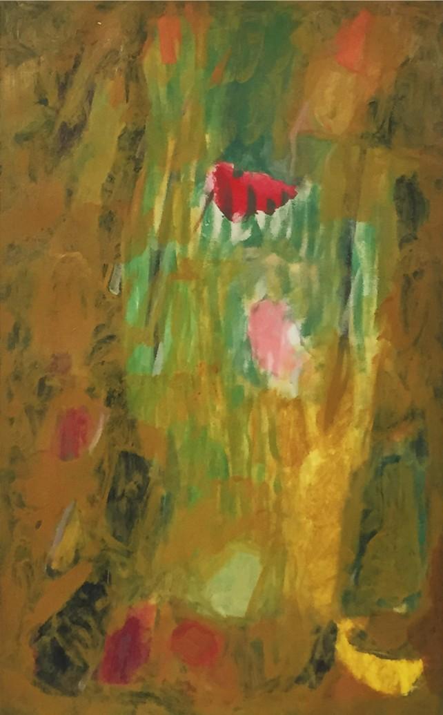 """Ethel Schwabacher, Ode I, 1954, 40"""" x 25"""""""